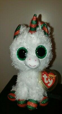 2020 NEW - Ty Beanie Boos - SNOWFALL the Christmas Unicorn (6 Inch) - IN HAND