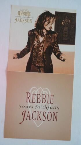 Rebbie Jackson Yours Faithfully LP Record Photo Flat 12x24 Poster
