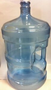 5 Gallon Reusable Polycarbonate Plastic Water Jug Bottle  (MADE IN USA)