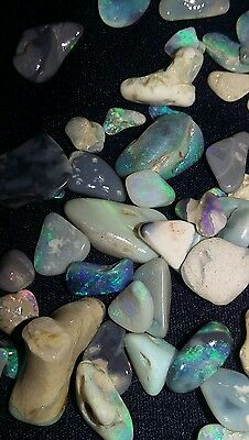 4 ct lots of Natural Australian Rough Opal raw uncut high quality large stones