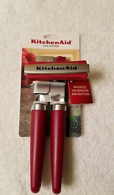 Kitchenaid Empire Red Can Opener With Magnet