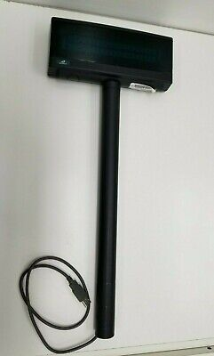 Logictech Register Pole Ld9900up-gy20 Usb Power Shorter Cord - Used Working