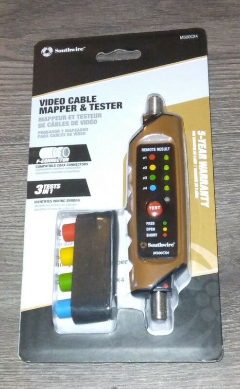 Southwire Video Cable Mapper & Tester