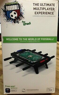 New Potato FOOSBALL Realistic Game Table for iPad 1, 2, & 3 w/ Free App NEW for sale  Shipping to India