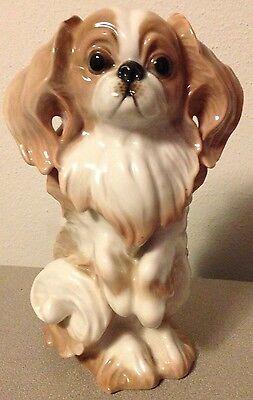 Vintage Rosenthal Bavaria Japanese Chin Masterpiece - A Quality Top Dog Figurine