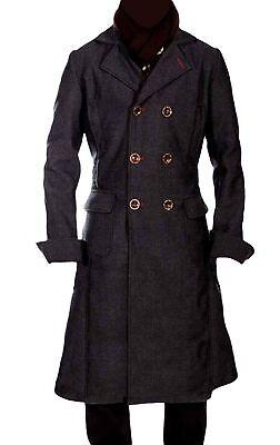 SHERLOCK HOLMES LONG WOOL WINTER MEN'S CAPE COAT JACKET COSPLAY COSTUME](Overcoat Sherlock)