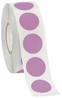 Self Adhesive Labels 34 Dot Circle Stickers Lavender Purple 2000 Labels