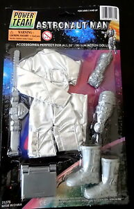 ASTRONAUT MAN POWER TEAM ACCESSORIES ACTION DOLL CLOTHES ...