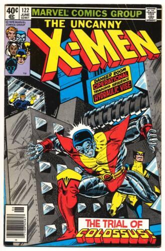 X-MEN #122 VG, The Uncanny, John Byrne art, Marvel Comics 1979