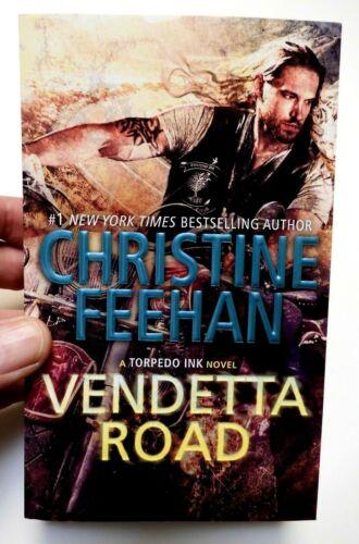 VENDETTA ROAD (A Torpedo Ink Novel) by Christine Feehan, 2020, NEW Paperback