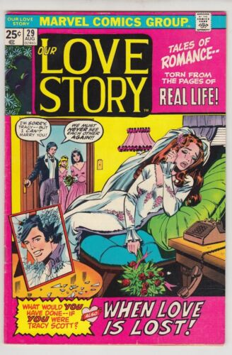 OUR LOVE STORY #29 FINE+ CONDITION