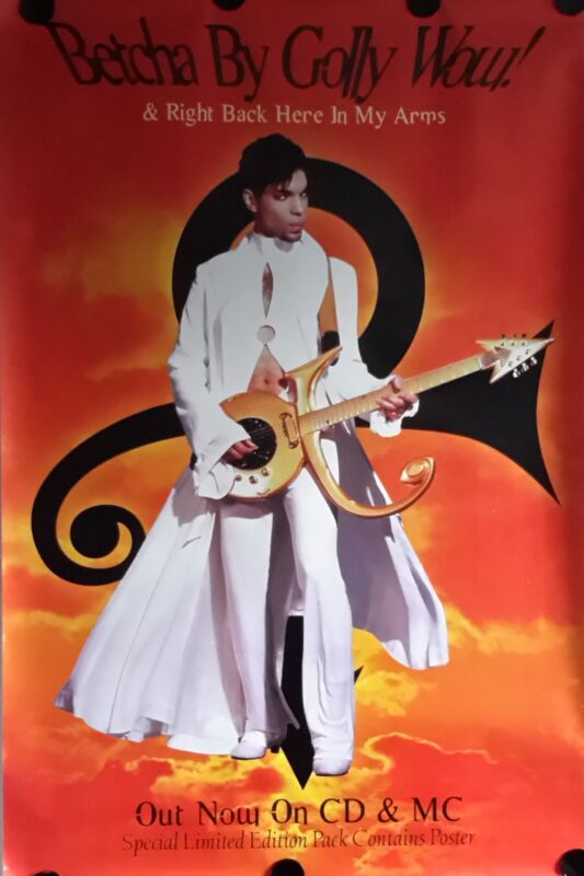 Prince Orig. Giant Promo poster 1996 40x60 inch FREE INT.SHIPPING