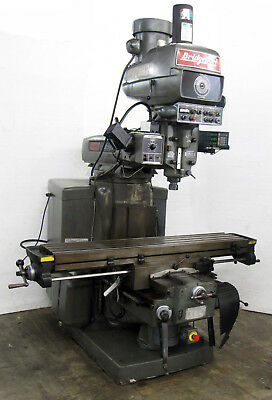 Bridgeport Series 2 Manual Mill W 3-axis Powerfeeds Dro 11x58-table