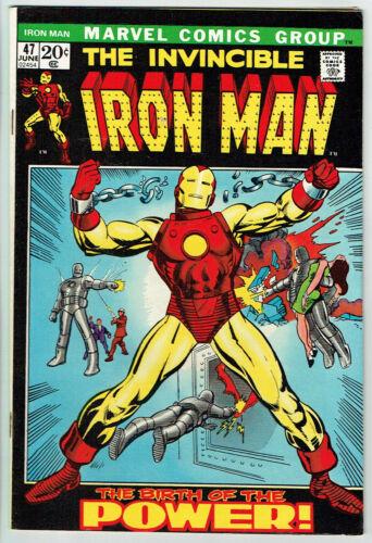 IRON MAN  47  VF/8.0 - Origin retold w/ Barry Windsor Smith artwork!