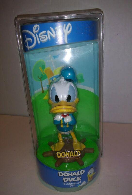 Disney NIP Donald Duck Bobblehead Bobble Dobbles RARE ship captain wheel helm
