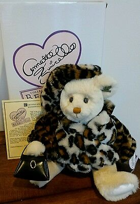 Retired Annette Funicello Gigi Bear w/COA and Box