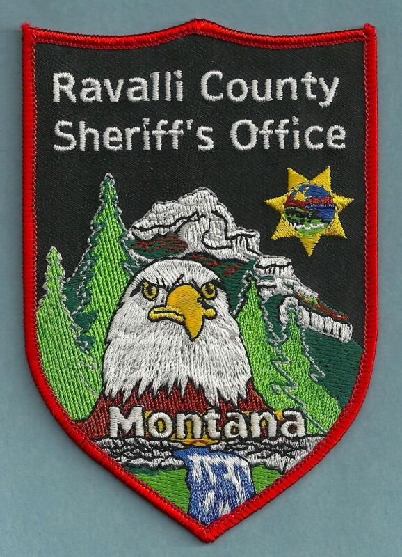 RAVALLI COUNTY SHERIFF MONTANA SHOULDER PATCH