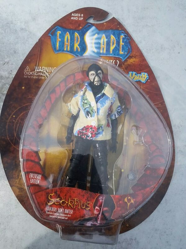 Farscape Scorpius Action Figure toy vault Series 2 Crackers Don