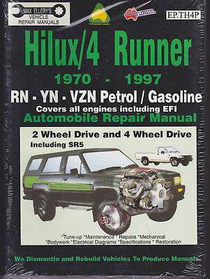 1970-1997 Toyota 4Runner Hilux SR5 4WD (RN YN VZN Gas Petrol) Repair Manual 7880