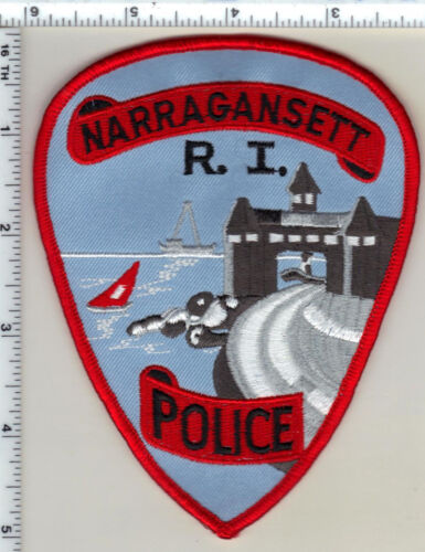 Narragansett Police (Rhode Island) 2nd Issue Shoulder Patch from 1994