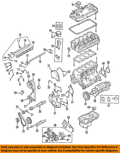2003 mitsubishi galant engine diagram mitsubishi oem 89 12 galant engine crankshaft crank seal md365697  galant engine crankshaft crank seal