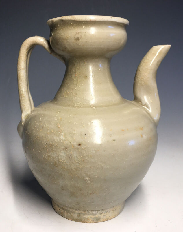 Antique Northern Song Dynasty Chinese Qingbai Glazed Teapot Ewer Porcelain