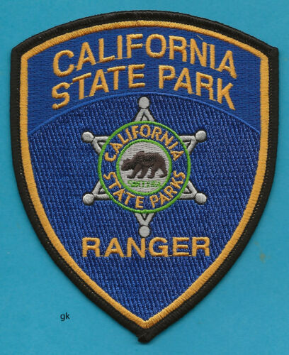 CALIFORNIA STATE PARK RANGER POLICE SHOULDER PATCH