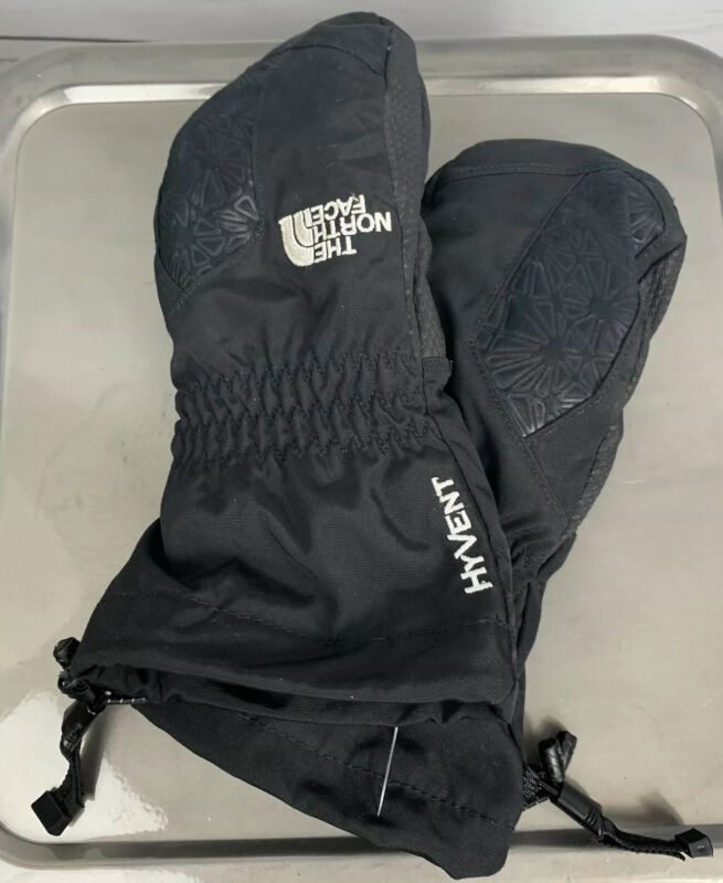 The North Face HyVent Mittens Glove | Youth Size Small EUC