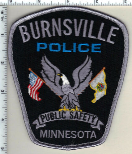 Burnsville Police (Minnesota) 2nd Issue Shoulder patch