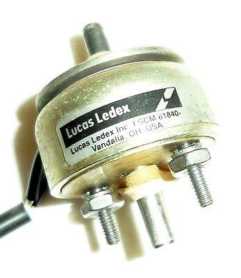 Lucas Ledex 9330 123423-030 Rotary Solenoid