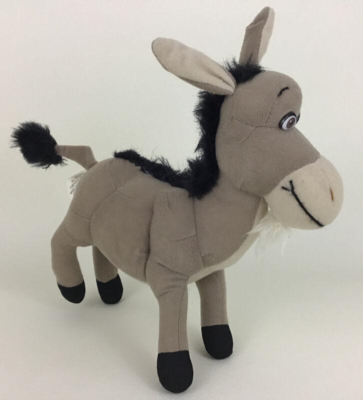 "Shrek Donkey 8"" Plush Stuffed Animal Toy Nanco 2004 Dreamworks Best Friend"