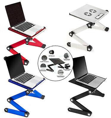 Executive Office Solutions Portable Adjustable Aluminum Laptop Lightweight Desk
