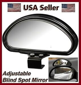 Auxiliary Blind Spot Wide View Mirror X Small Side Clip On