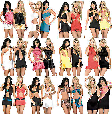 Q1 WHOLESALE LOT CLOTHING 300 Pcs WOMEN DRESSES SUMMER TOPS CLUBWEAR Mixed S M L