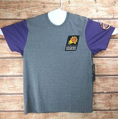 47 BRAND Phoenix Suns T-Shirt NBA Western Conference Men's Size XL Retail $45 ()