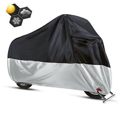 2XL All Weather Motorcycle Cover For Harley Davidson Road King HD Duty -
