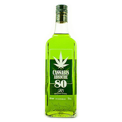 Tunel Cannabis Absinthe - Assenzio - 70cl - Antonio Nadal