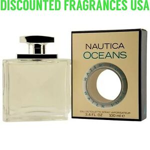Nautica Oceans Nautica 3.3 3.4 oz Eau De Toilette Spray /