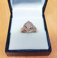 1ct Diamond Cluster Dress Ring Red Hill Brisbane North West Preview
