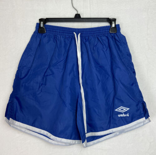 Vintage Umbro Mens Athletic Shorts Blue Size Adult M - $18.99