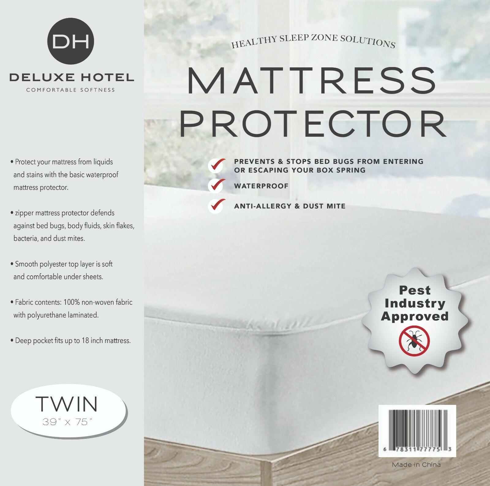 Ultimate Bed Bug Blocker Zippered Mattress Encasement Bedding