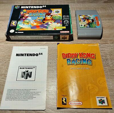 Nintendo N64 // Diddy Kong Racing + OVP + Anleitung // dt. PAL CIB