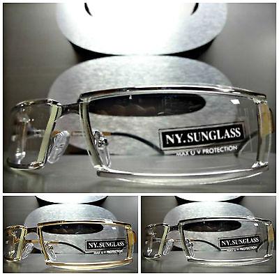Neu Sleek Zeitgenössisch Stil Klar Linse Tag oder Nacht Sonnenbrille Mode Rahmen