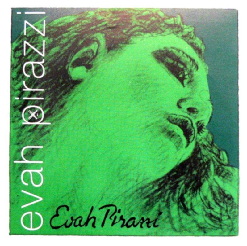 *Best Price* Evah Pirazzi Violin String Set 4/4 Size - Medium Gauge E STEEL BALL