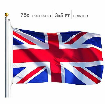 United Kingdom (UK Union Jack) Flag 75D Printed Polyester 3x5 Ft