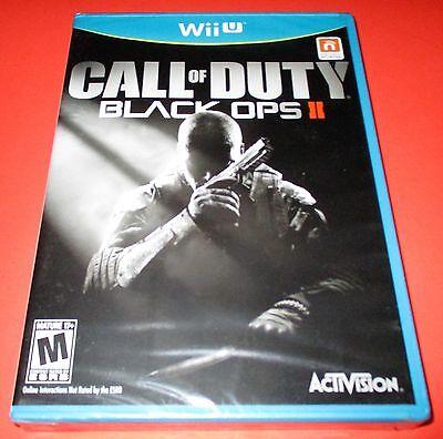 Call of Duty: Black Ops II Nintendo Wii U *Mill Sealed! *Free Shipping!