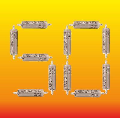 NOS 50pc 0.33uF 10/% 160V K42Y-2 PIO PAPER IN OIL AUDIO Capacitors