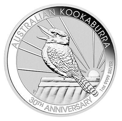 2020-P $1 1 oz Australian Silver Kookaburra .9999 BU - Perth Mint