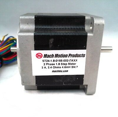 60mm Stepper Motor 166 Oz-in Holding Torque 2.0 Aph 1.8 Step Angle