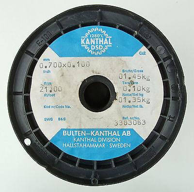 Kanthal Dsd 0.7x0.1mm 29 Gauge Awg 21m Ribbon Flat Resistance Wire 10m